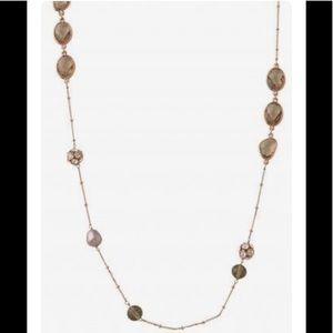 Rose Gold Stella & Dot Annabelle Necklace